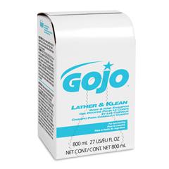 GOJ9126-12 - Lather & Klean Body & Hair Shampoo