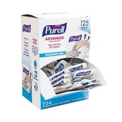 GOJ962012125 - Advanced Hand Sanitizer Single Use, 1.2 mL, Packet, Clear, 125/Box, 12 Box/CT