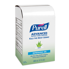 GOJ9637 - PURELL® Advanced Hand Sanitizer Aloe Gel