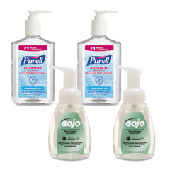 GOJ9652SSEC - PURELL® Advanced Hand Sanitizer & Hand Soap Kit