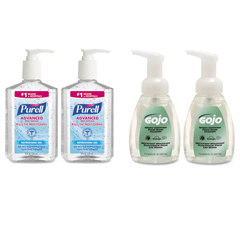 GOJ9652SSECCT - PURELL® and GOJO® Advanced Hand Sanitizer/Hand Soap Kit