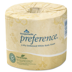 GPC182-80-01 - Preference® Embossed 2-Ply Bathroom Tissue
