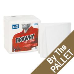 GPC29215-PL - Georgia Pacific - Brawny Professional® Medium Duty Airlaid 1/4-Fold Wipers