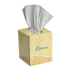 GPC462 - Preference® Facial Tissue - Cube Boxes