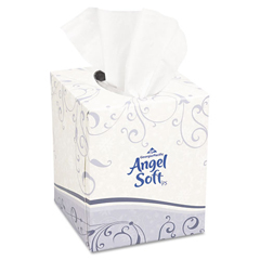 GEP46580BX - Angel Soft ps® Premium Facial Tissues, Cube Box