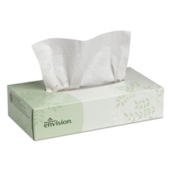 GPC474-10 - Envision® Facial Tissues, Flat Box