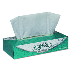 GPC485-80 - Angel Soft ps® Facial Tissue, Flat Box
