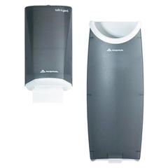 GPC595-13 - Safe-T-Gard™ Door Tissue Dispenser and Trash Receptacle