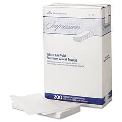 GPC921-13 - Essence Impressions® 1/6-Fold Linen Guest Towels