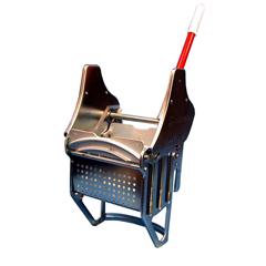 GPS1015-1 - GeerpresFloor-King® Downward Pressure Zinc Plated Metal Mop Wringer