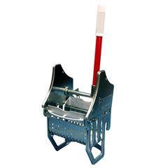 GPS1021-1 - GeerpresFloor-Knight® Downward Pressure Zinc Plated Metal Mop Wringer