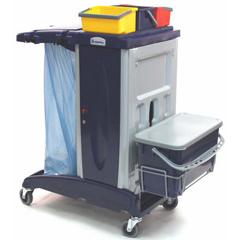 GPS201FT - GeerpresModular Plastic Housekeeping Cart