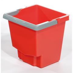 GPS21005R - GeerpresMop Bucket, Red - 15 Liter