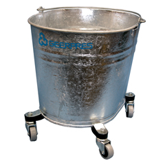 GPS2103 - GeerpresSeaway® Galvanized Steel Oval Mop Bucket
