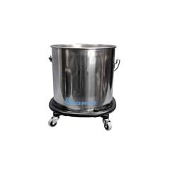 GPS2221 - GeerpresStainless Steel Mop Bucket with Casters
