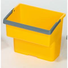 GPS23020G - GeerpresTop Bucket, Yellow - 4 Liter For Modular Plastic Housekeeping Carts