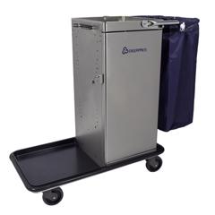 GPS3810 - GeerpresGenesis™ Stainless Steel Housekeeping Cart