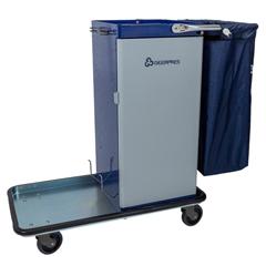 GPS3820 - GeerpresGenesis™ Powder Coated Housekeeping Cart