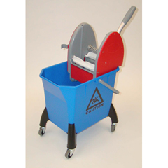 GPS400DW - GeerpresMopping Trolley - Small With Downpress Wringer
