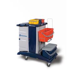 GPS500FTD - GeerpresModular Plastic Housekeeping Cart