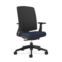 HON2281VA90T - Lota Mesh Mid-Back Task Chair with Weight Activated Tilt