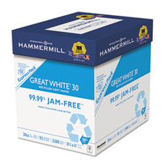 HAM67780 - Hammermill® Great White® Recycled Copy Paper