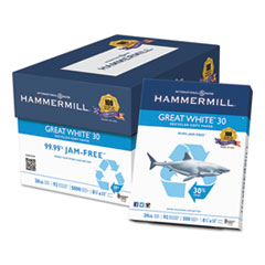 HAM86700 - Hammermill® Great White® 30 Recycled Copy Paper