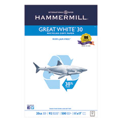 HAM86750 - Hammermill® Great White Recycled Copy Paper