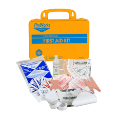 HSC2165FAK - HospecoOrange Portable 25 Person First Aid Kit