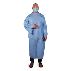 HERTGOWNLP - Heritage T-Style Isolation Gown