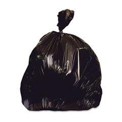 HERX6639AK - Heritage Bag® Repro Can Liners - 33 x 39, Black