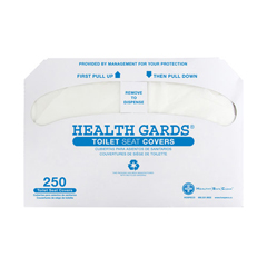 HSCHG-5000 - HospecoHealth Gards® Half-Fold Toilet Seat Covers