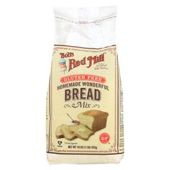 HGR0127167 - Bob's Red MillGluten Free Homemade Wonderful Bread Mix - 16 oz. - Case of 4