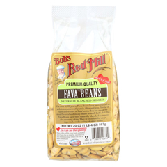 HGR0127381 - Bob's Red MillFava Beans - 20 oz. - Case of 4