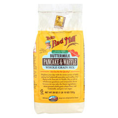 HGR0132787 - Bob's Red MillButtermilk Pancake and Waffle Mix - 26 oz. - Case of 4