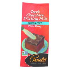 HGR0148965 - Pamela's ProductsFrosting Mix - Dark Chocolate - Case of 6 - 12 oz.