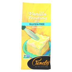 HGR0149047 - Pamela's ProductsFrosting Mix - Vanilla - Case of 6 - 12 oz.