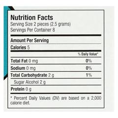 HGR0157305 - Glee Gum - Chewing Gum - Refresh Mint - Sugar Free - Case of 12 - 16 Pieces