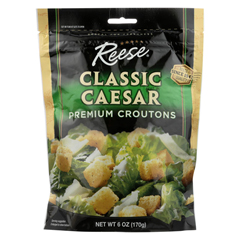 HGR0171793 - Reese - Croutons Caesar Salad - Case of 12 - 6 oz.