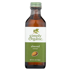 HGR0186056 - Simply OrganicAlmond Extract - Organic - 4 oz.