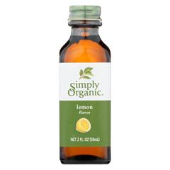 HGR0186072 - Simply OrganicLemon Flavor - Organic - 2 oz.