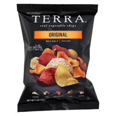 HGR0252387 - Terra Chips - Exotic Vegetable Chips - Original - Case of 24 - 1 oz.