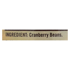 HGR0268680 - Bob's Red MillCranberry Beans - 27 oz. - Case of 4