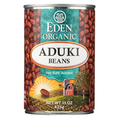 HGR0284109 - Eden FoodsOrganic Aduki Beans - Case of 12 - 15 oz.