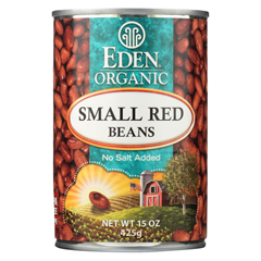 HGR029056 - Eden Foods - Small Red Beans Organic - Case of 12 - 15 oz.