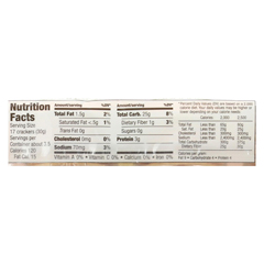 HGR0294322 - Sesmark Foods - Rice Thins - Brown - Case of 12 - 3.5 oz.