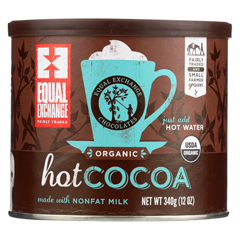HGR0303131 - Equal Exchange - Organic Hot Cocoa - Case of 6 - 12 oz.
