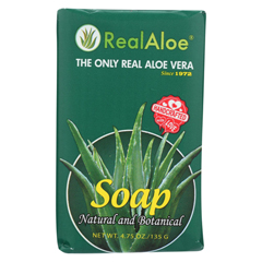 HGR0347237 - Real AloeAloe Vera Bar Soap - 4.75 oz.