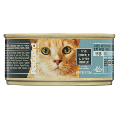 HGR0349407 - PetGuardCats Food - Fish, Chicken and Liver - Case of 24 - 5.5 oz.