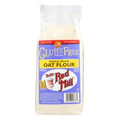 HGR0405274 - Bob's Red MillGluten Free Oat Flour - 22 oz. - Case of 4